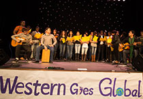 students perform at Western Goes Global cultural showcase 2014
